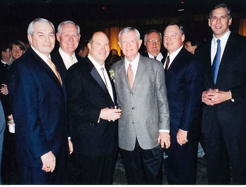 Loyd Wainscott second from the left
