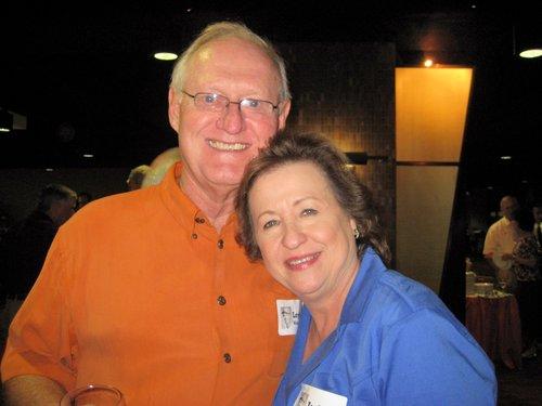 Loyd with Judy Brooks (Leo's wife)