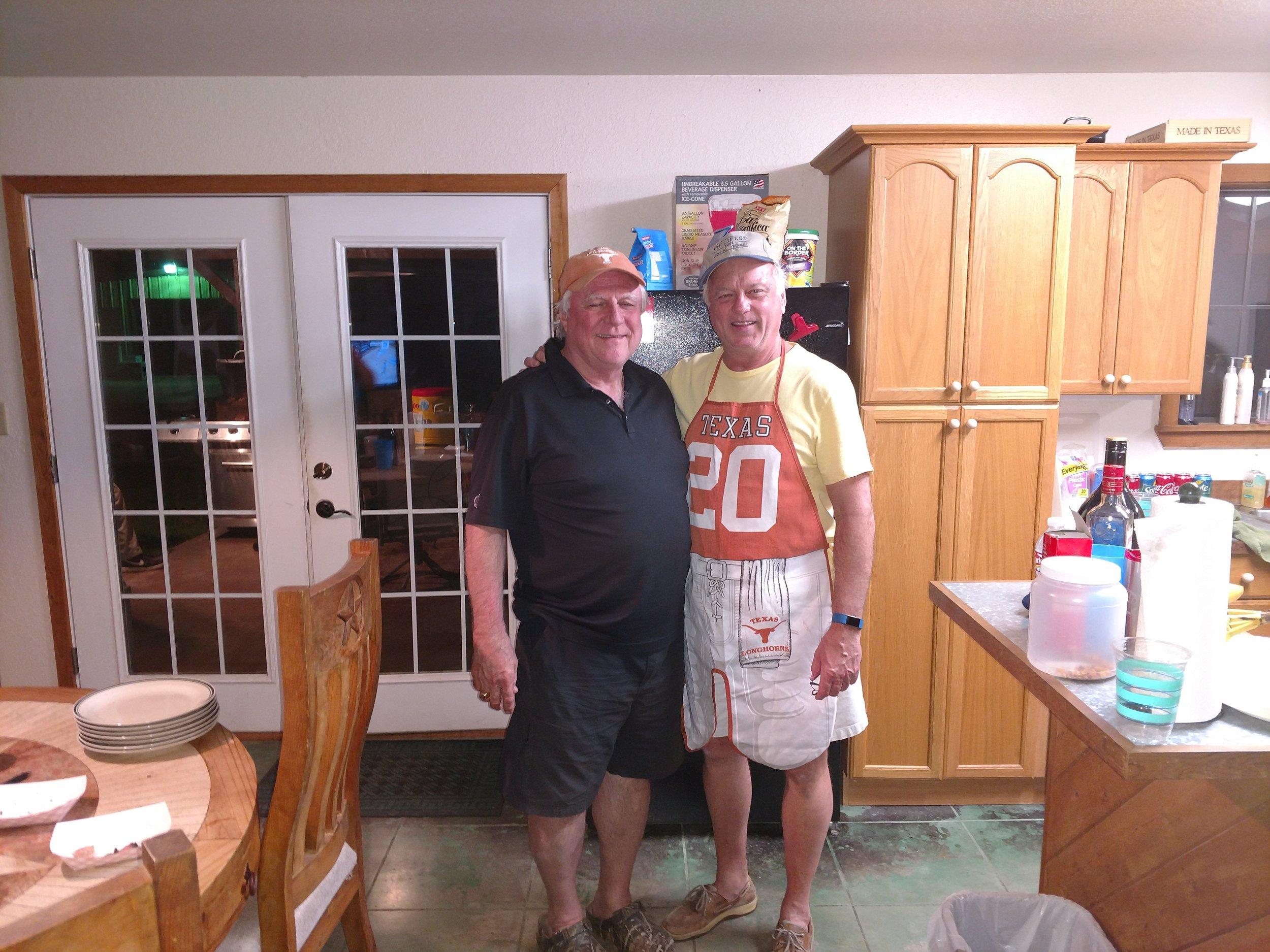 Pat Kelly and Steve Cumley