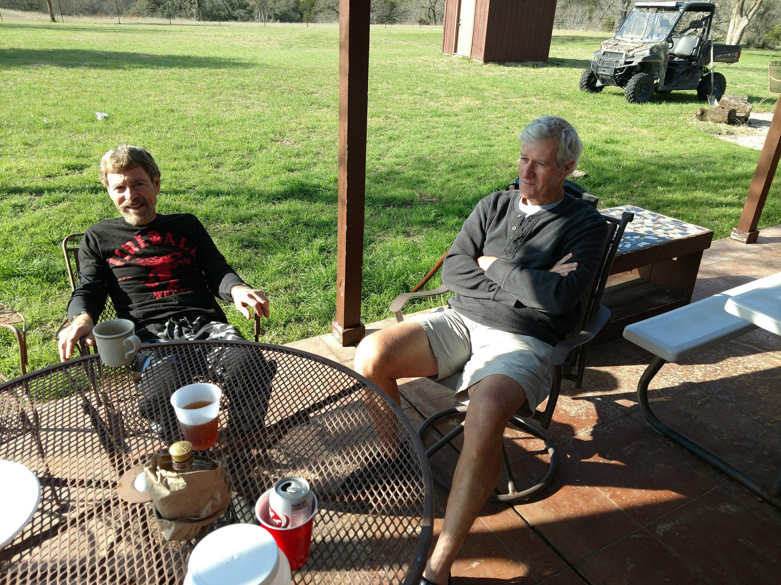 Don Burrisk and Bob Tresch