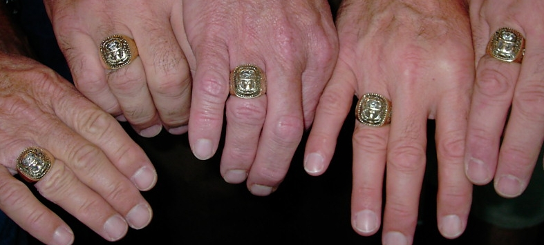 The real size of the '69 and '70 ring