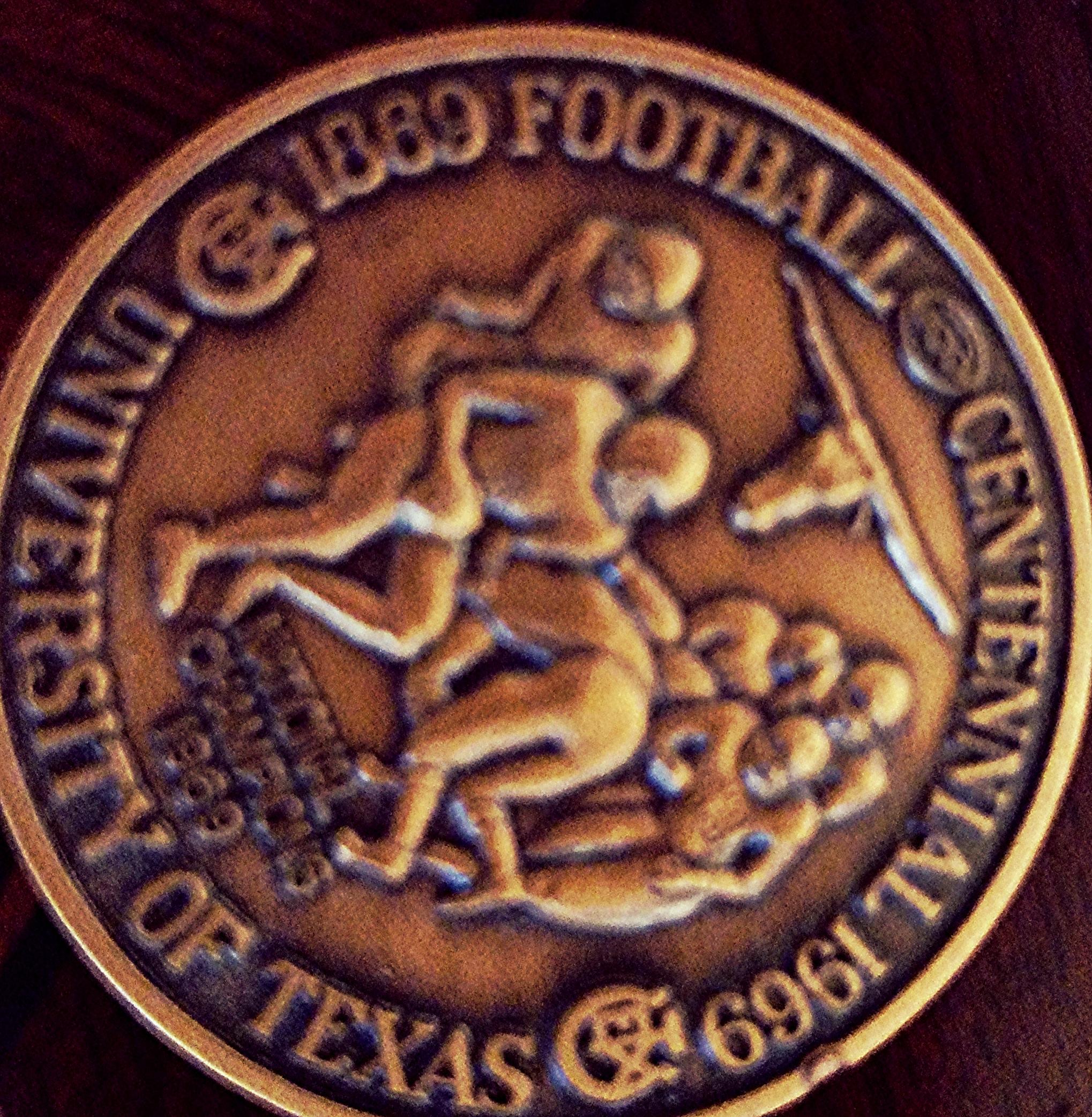 Centennial medallion 100th year of College football