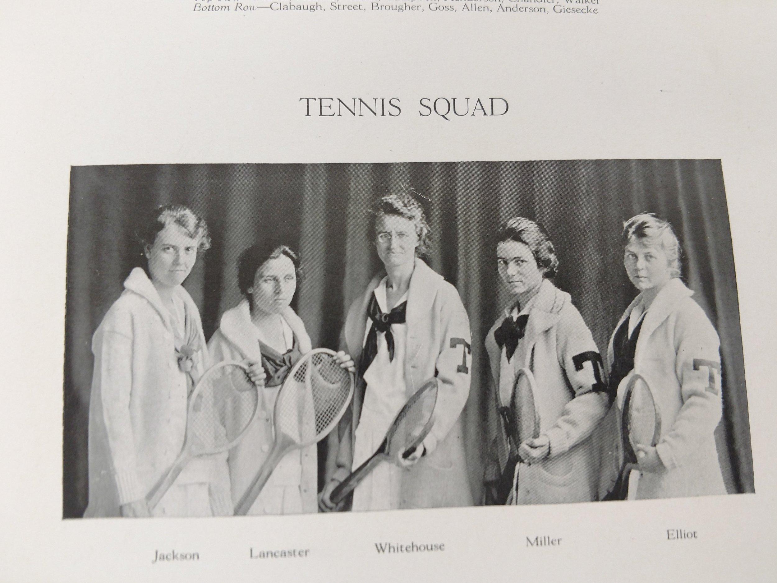 1918 tennis -