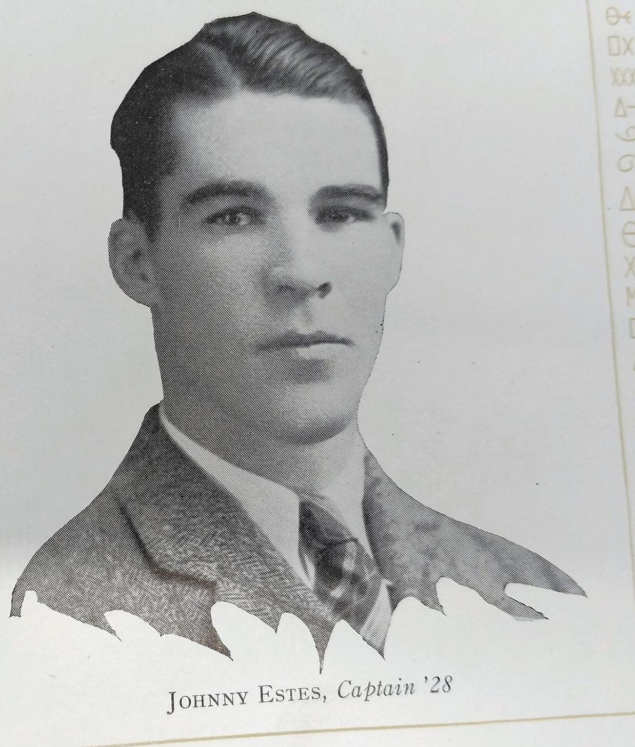 Johnny Estes - captain
