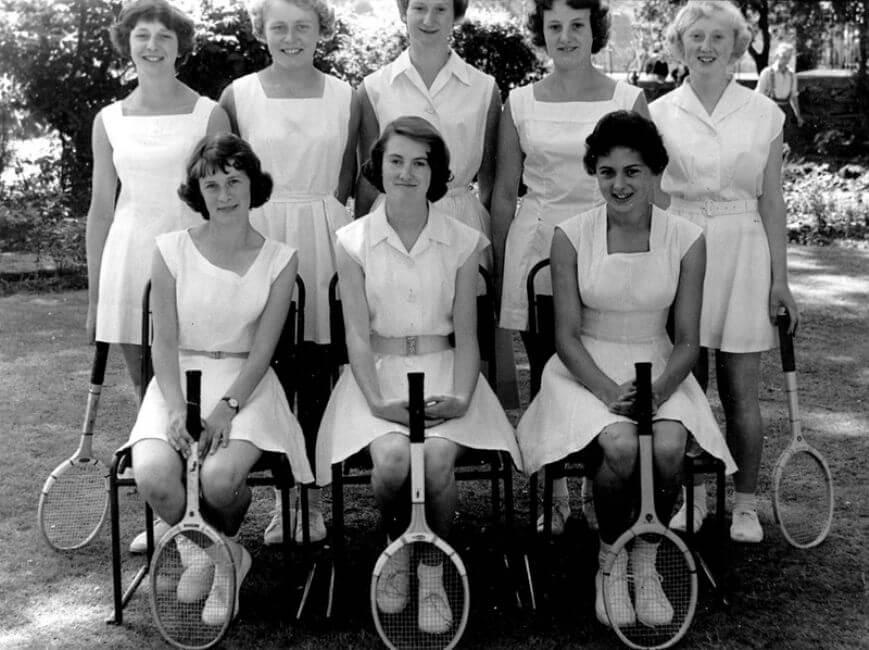 1950's Tennis Style