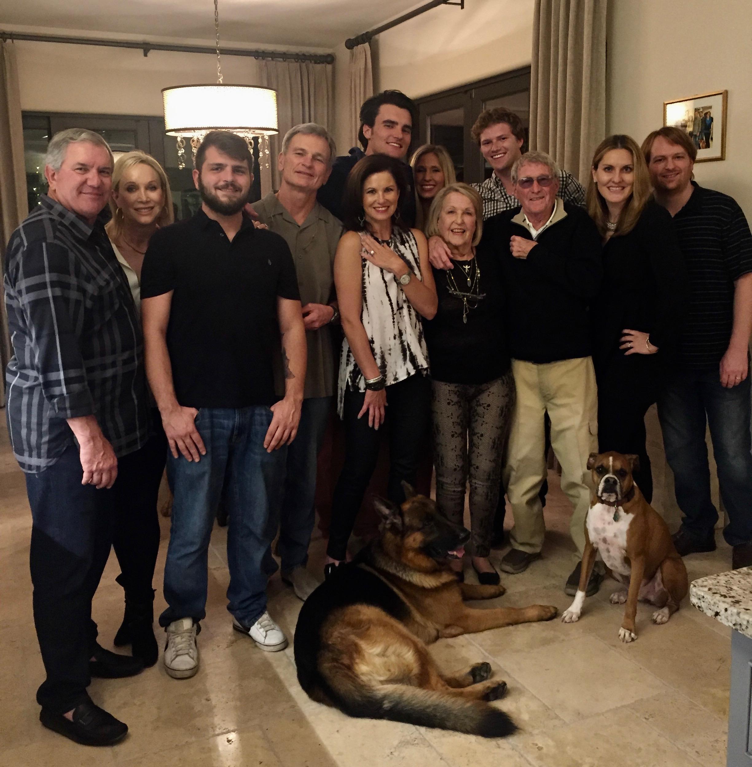 The Hilliard family -