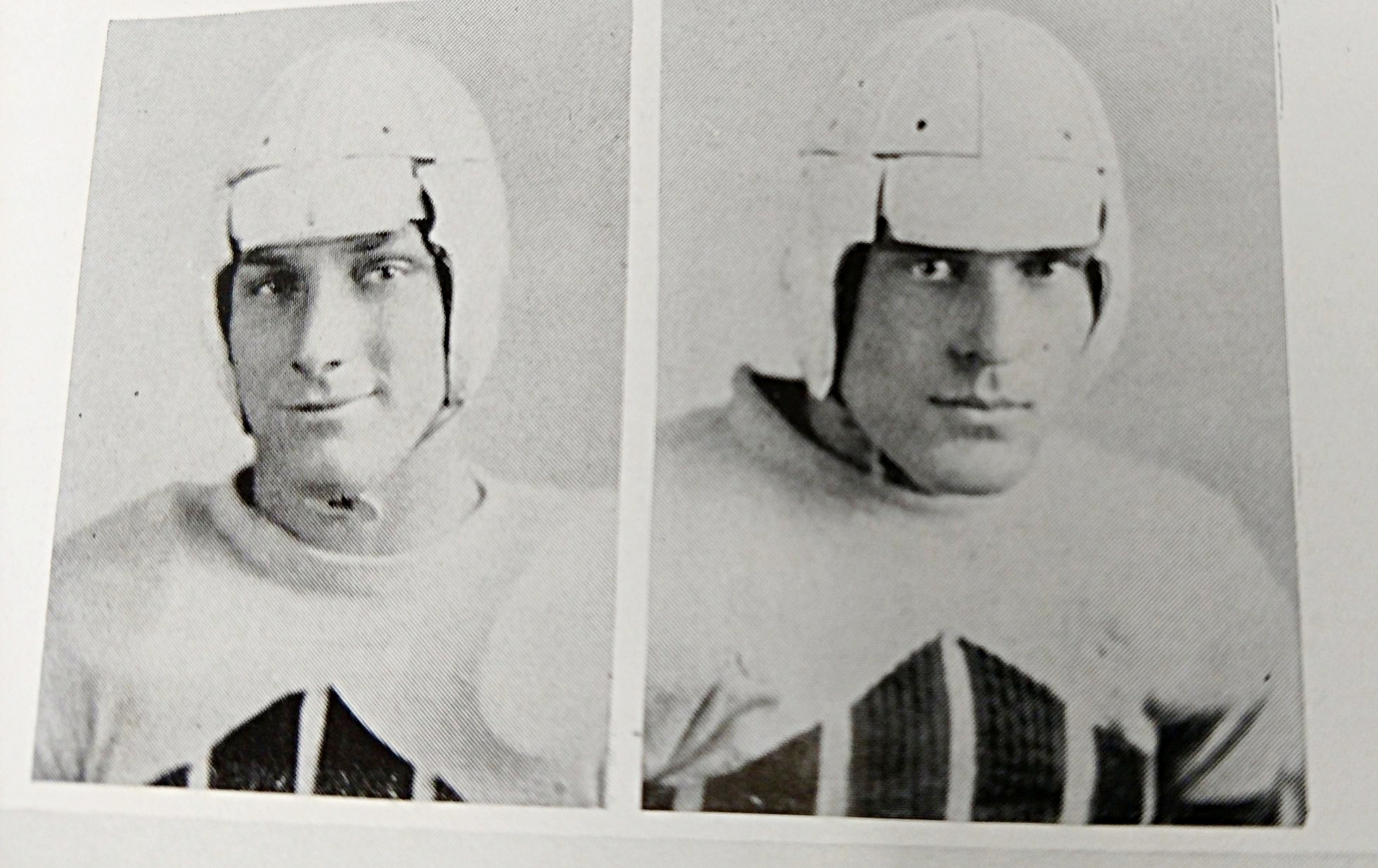 Helmets from the '30's