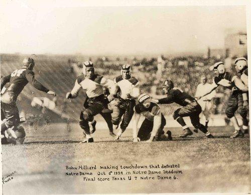 Bohn makes winning touchdown against Notre Dame