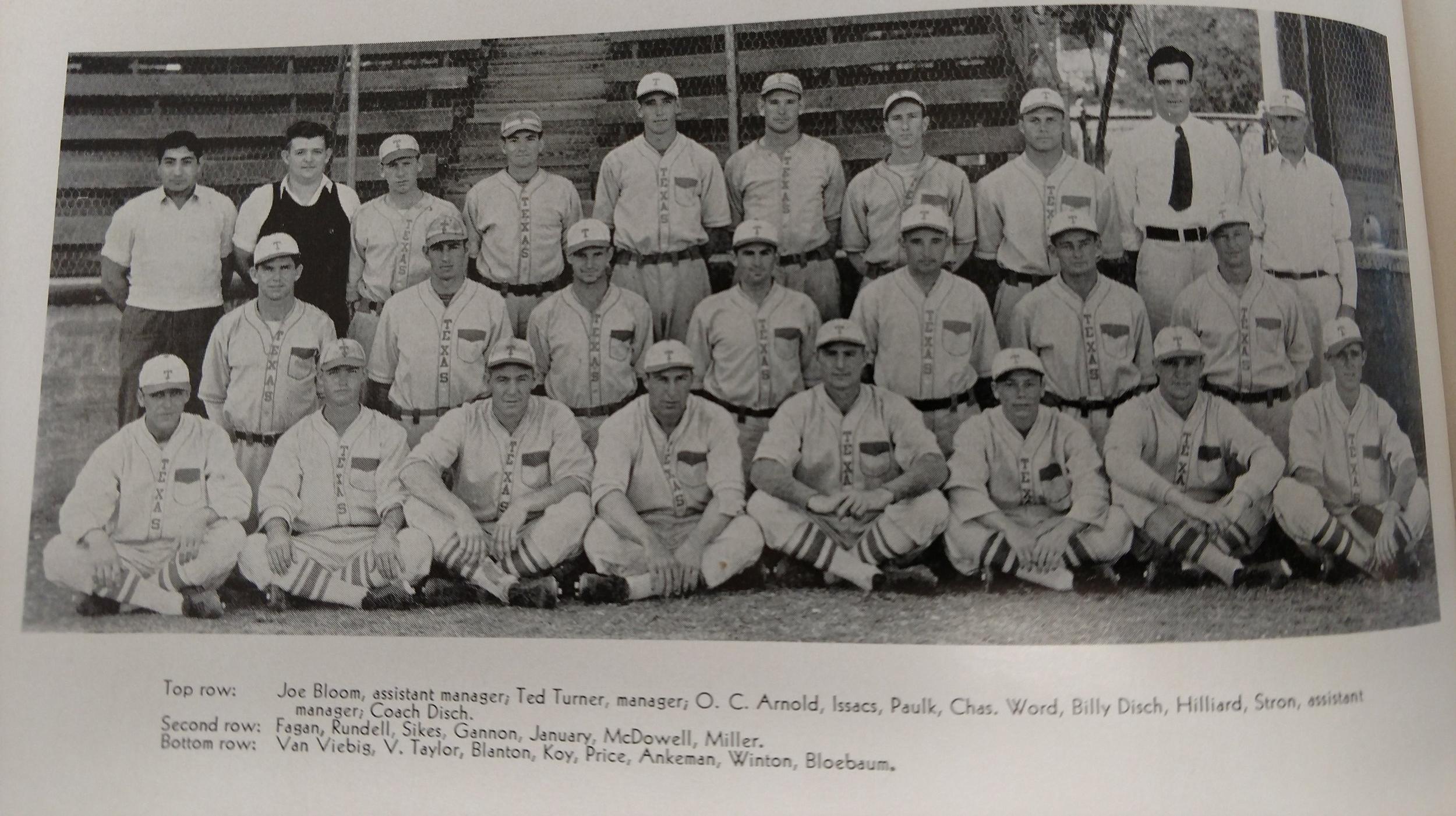 1932 baseball team