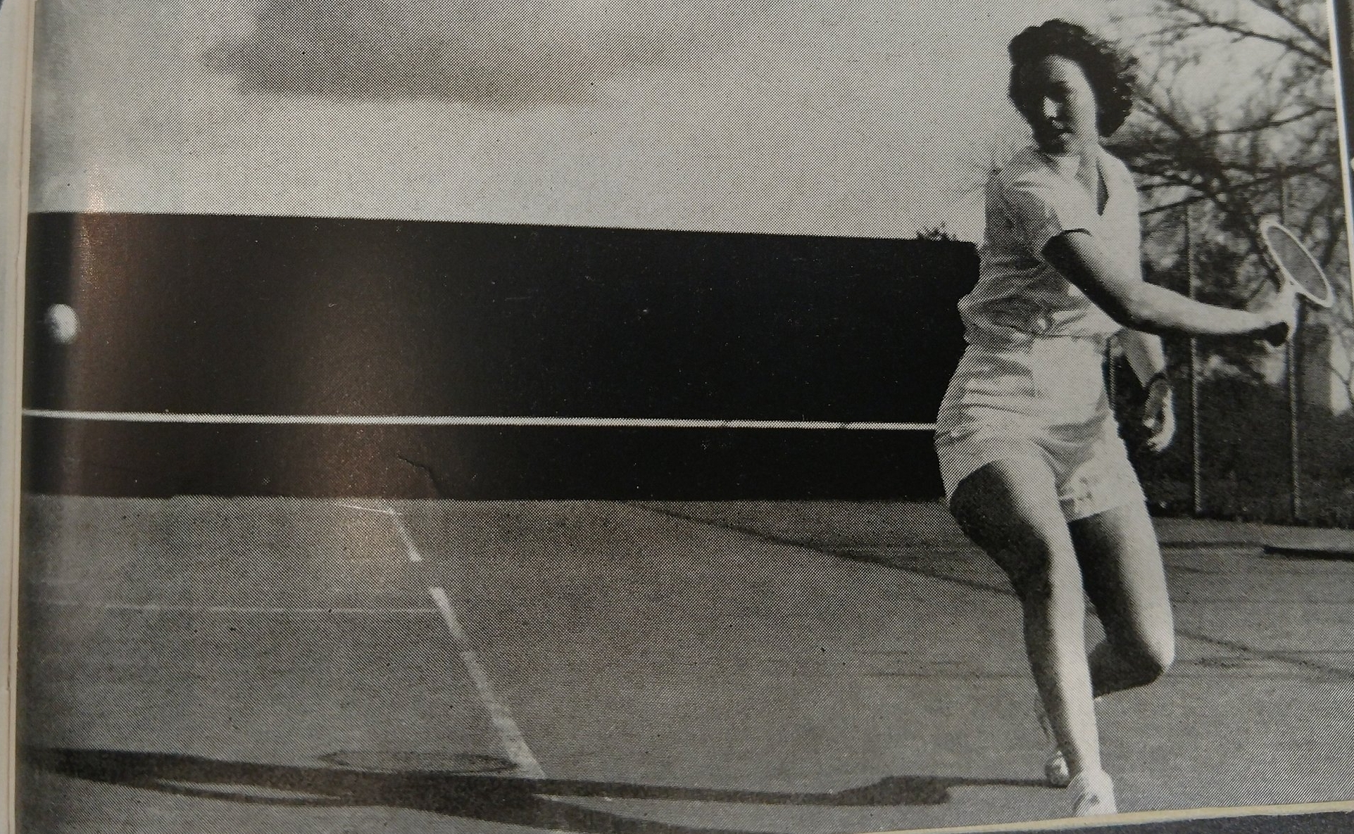 Copy of Charline Yaeger  tennis singles champ