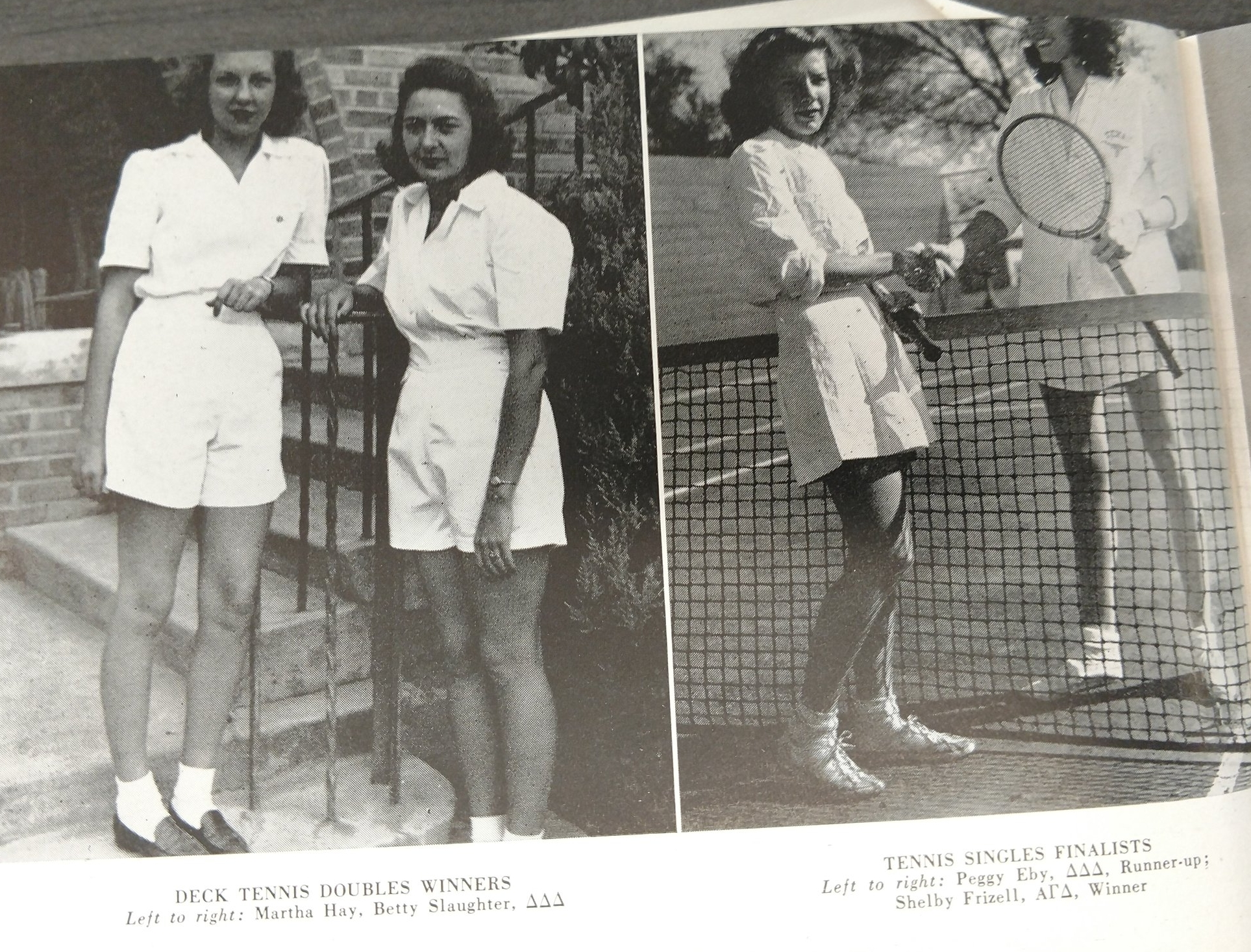 Copy of Doubles winner Marth Hay and Betty Slaughter - Singles winner Shelby Frizell