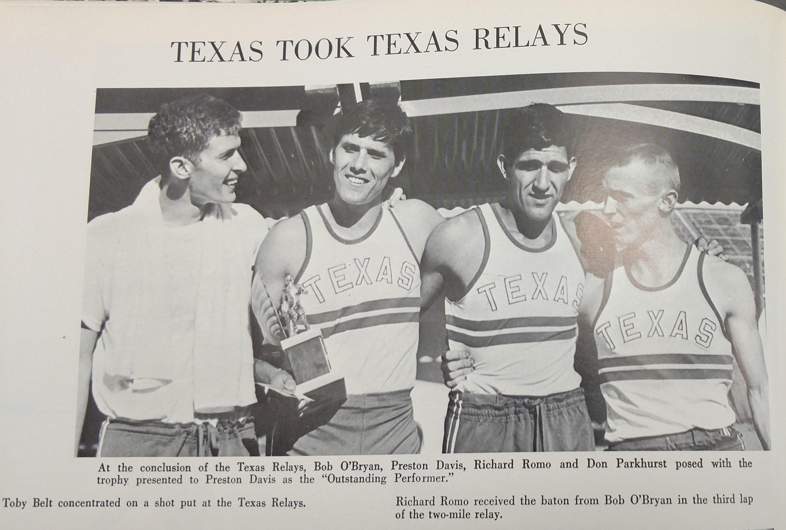 O'Bryan, Davis, Romo and Parkhurst.