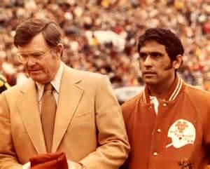 Coach Royal and Juan Conde