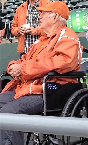 Charlie Munson at a recent baseball game