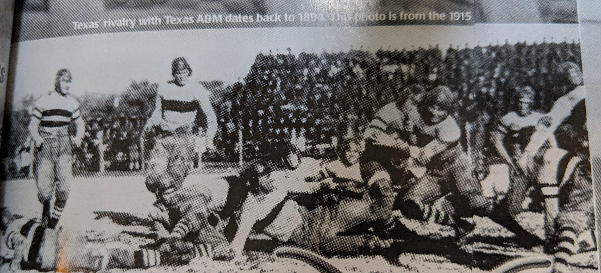 Texas vs. A & M