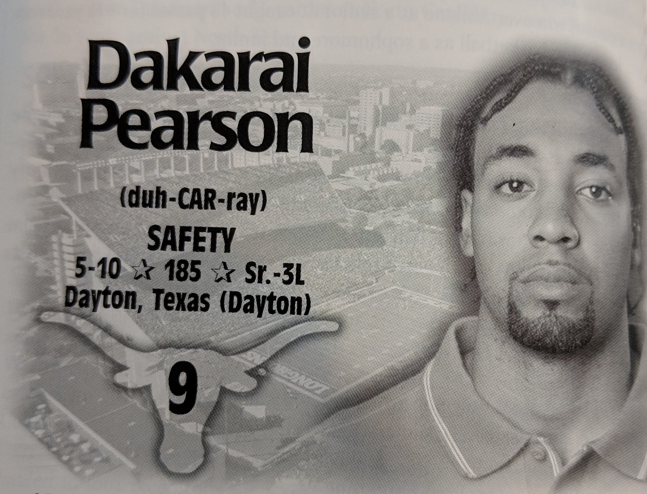 Dakari Pearson Holds The Record For Longest Touchdown After A Fumble (77 yards) -