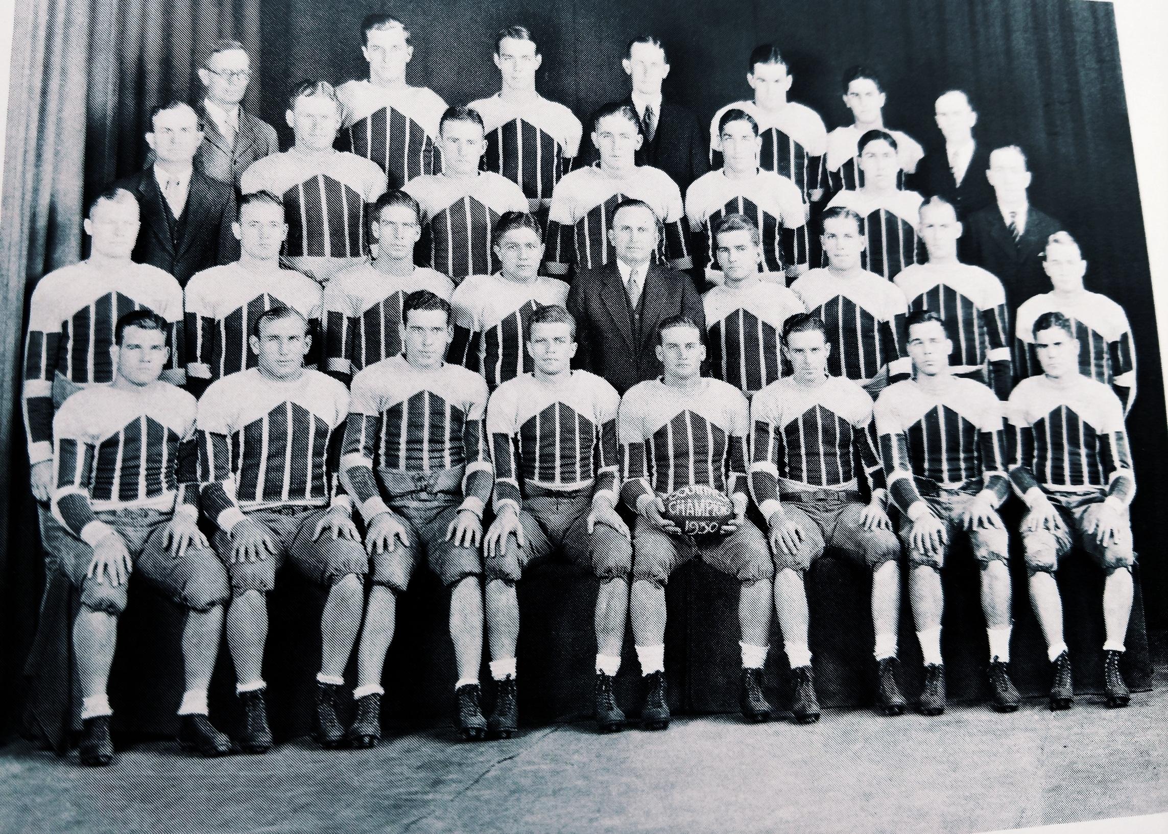 1930 football team -