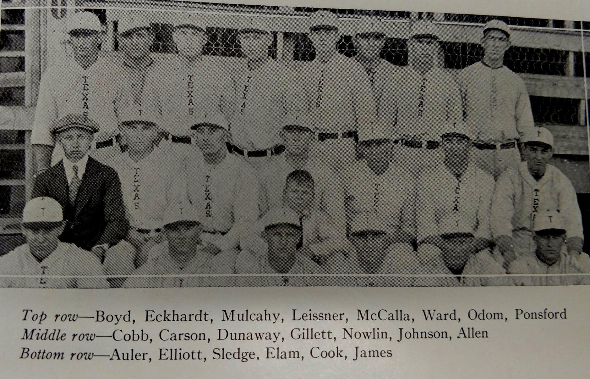 Baseball team  29 and 1