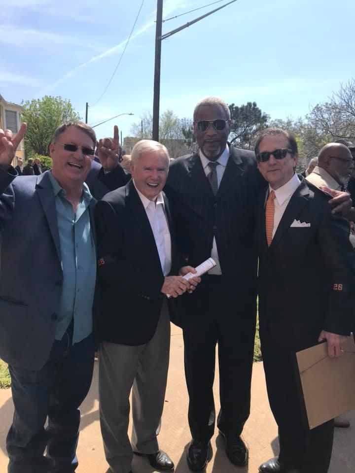 David Bales, Coach Akers, Kenneth Sims, Randy McEachern
