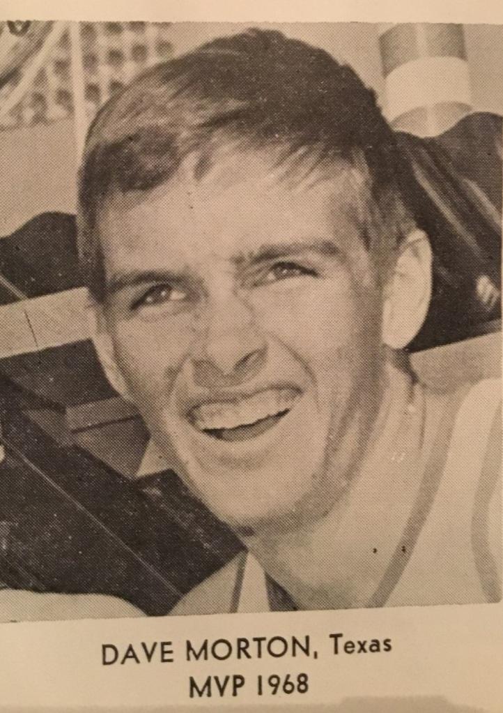 Dave Morton MVP 1968 - photos compliments of Rey Moreno