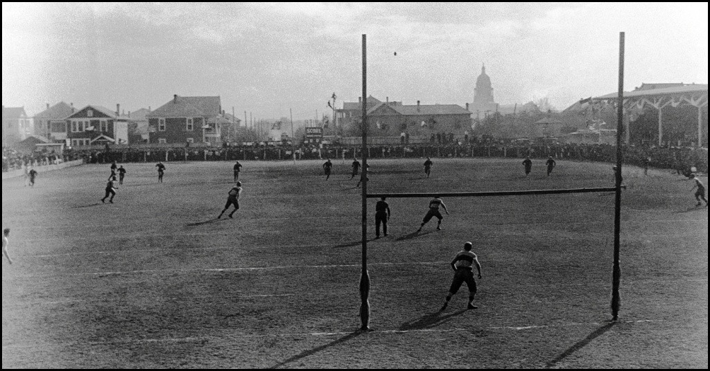 Old Clarks Field playing Rice