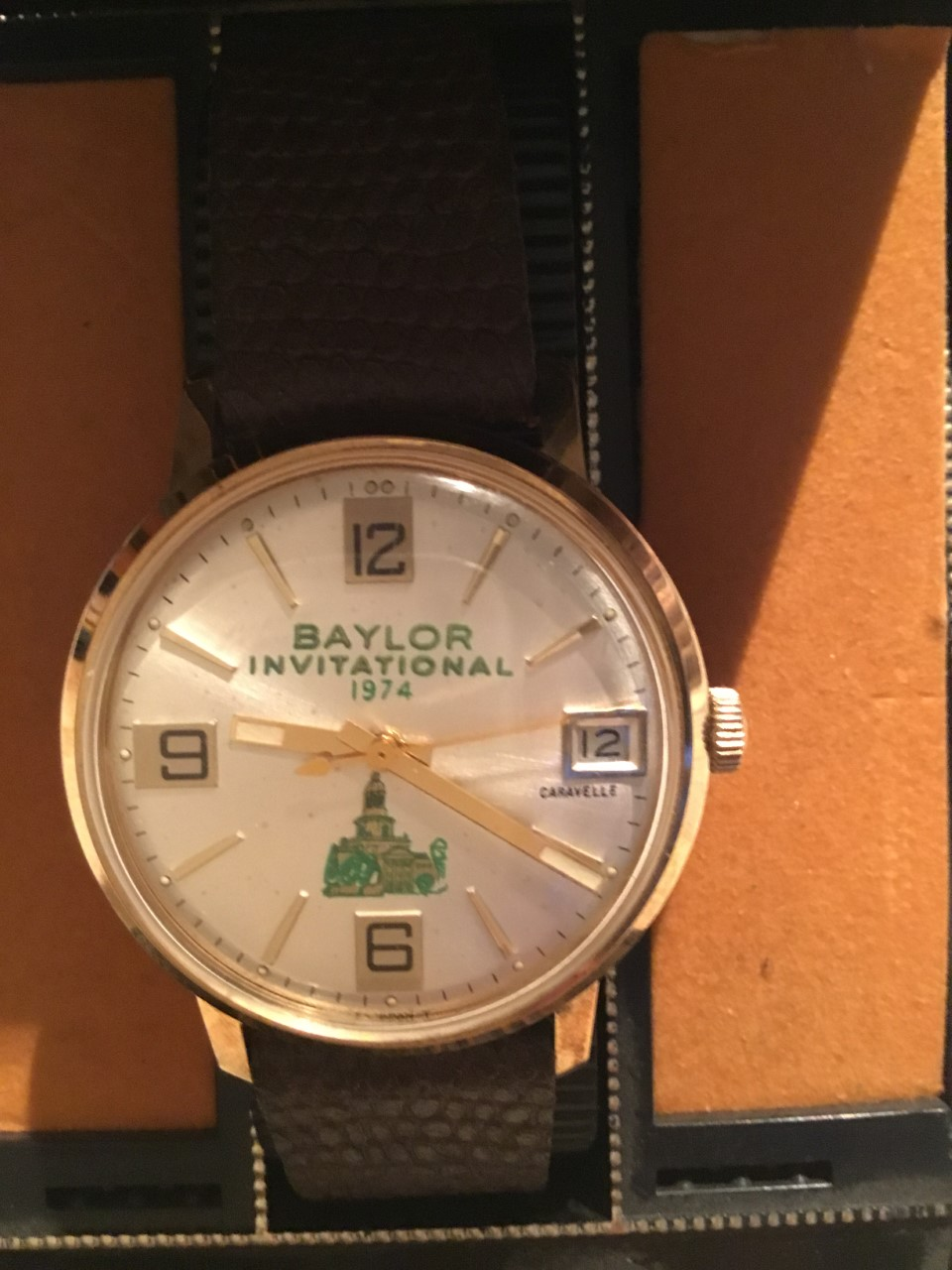 1974 watch compliments of Rey Moreno