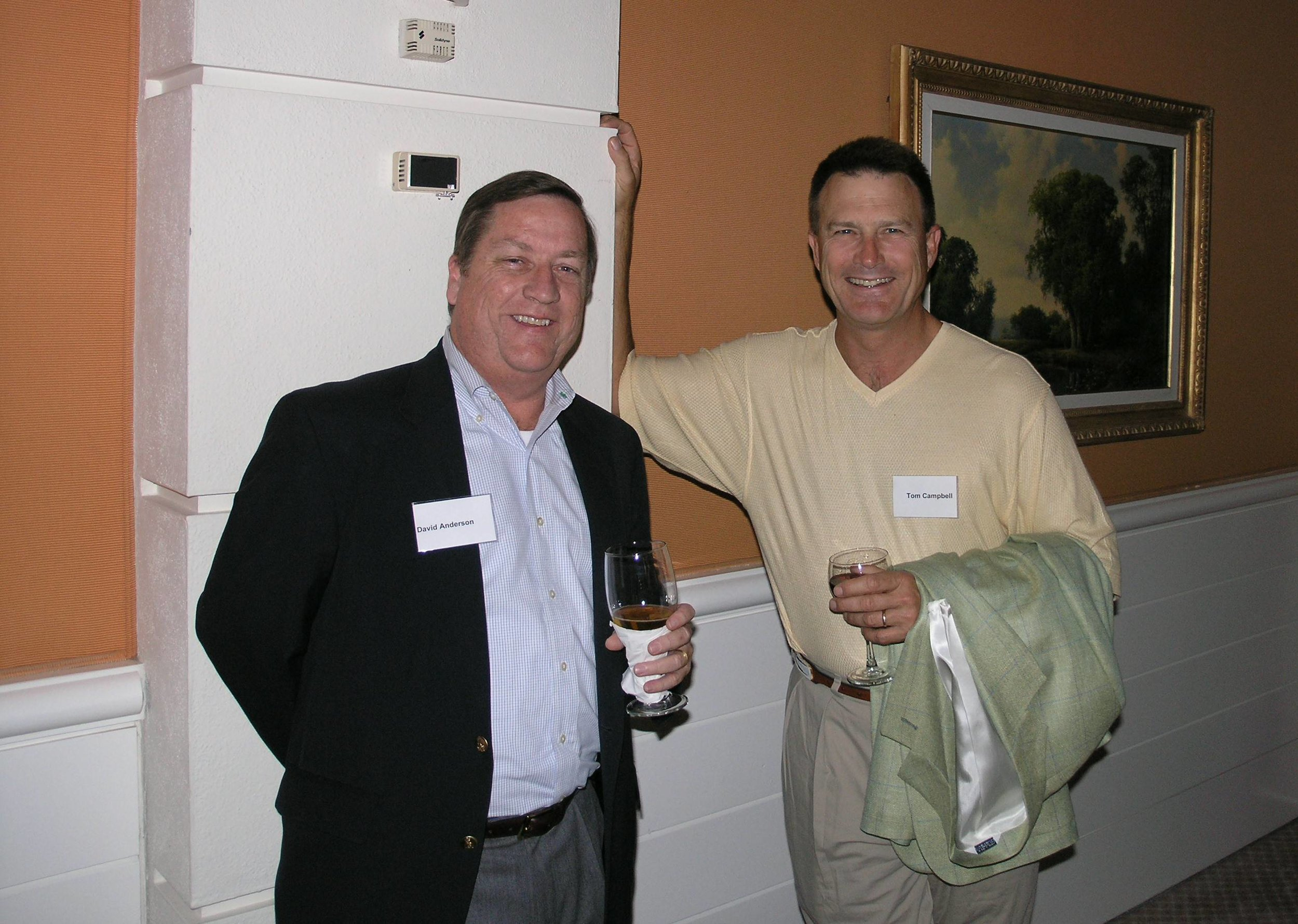 David Anderson, Tom Campbell