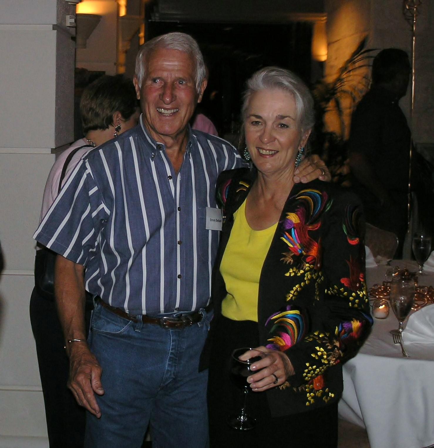 Coach and Mrs. Bellard