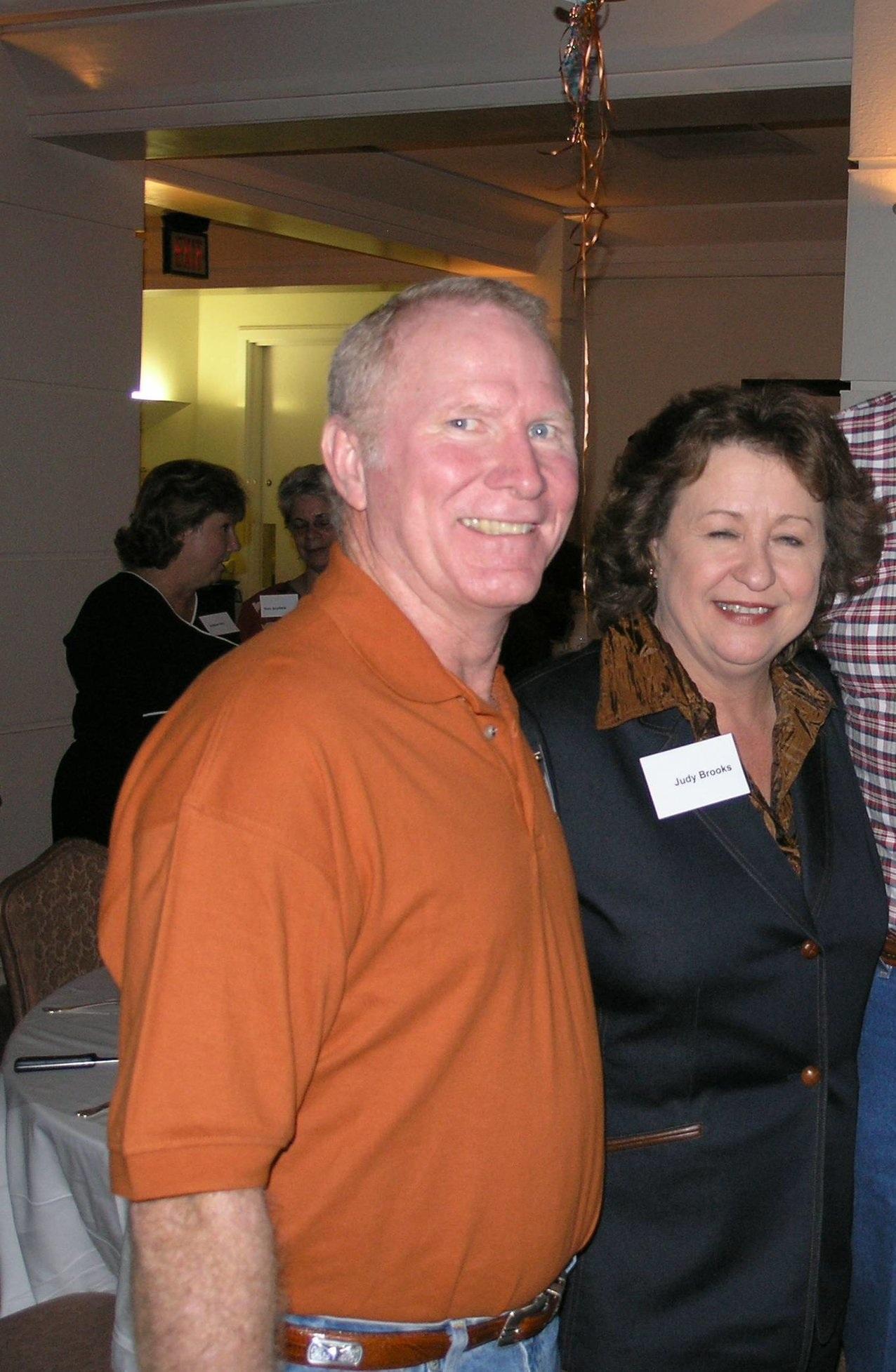 Donnie Wiggington and Judy Brooks