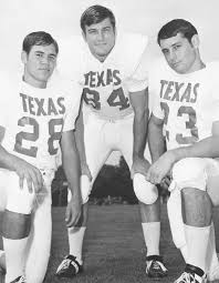 Steinmark, Campbell, Lester  Two years after the above photo Lester (car accident)and Steinmark (cancer) had passed away