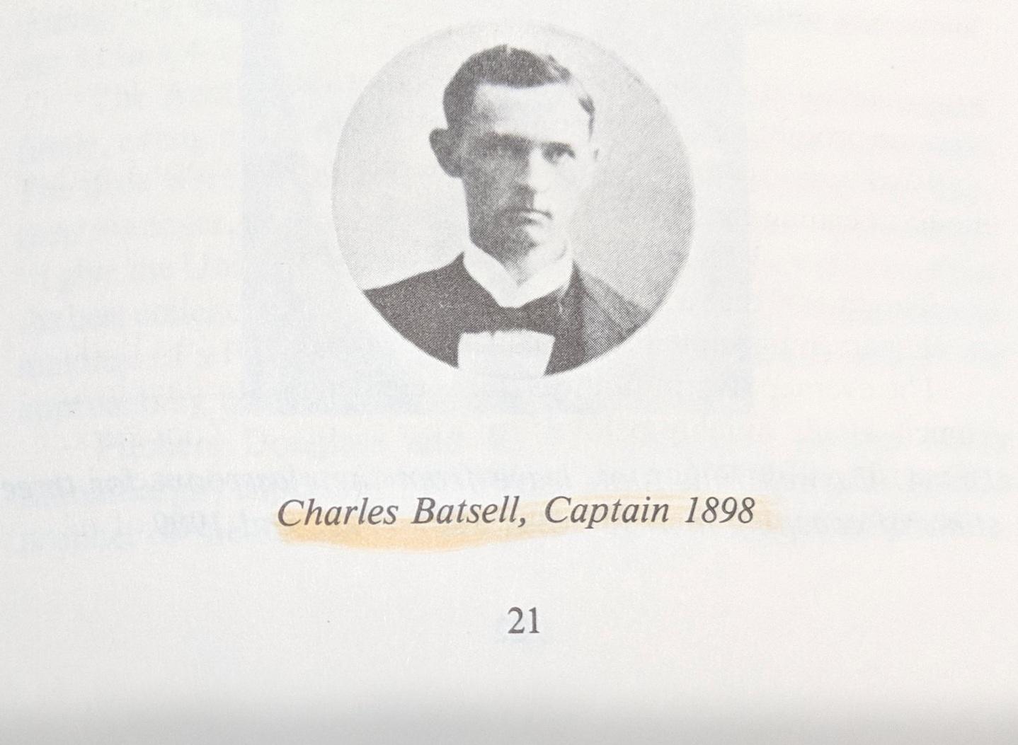 Captain Charles Batsell