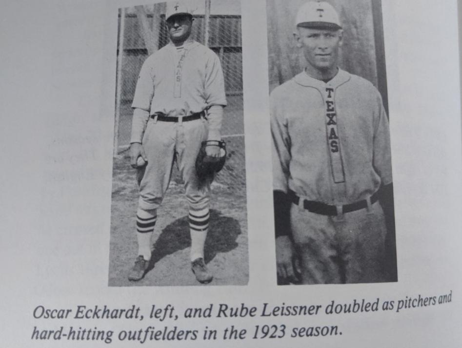 Oscar Eckhardt HOH and Rube Leissner