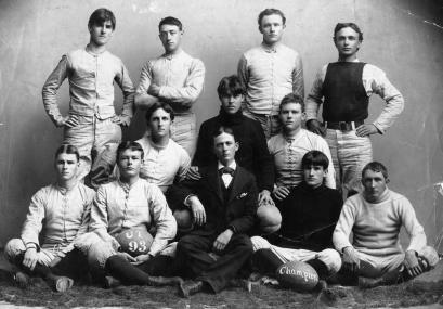 Gold and White - In 1893 UT Students identified themselves with their surroundings on the campus, and several University teams donned gold and white uniforms. Gold and White was never the UT official colors and only lasted a short period of time. - .