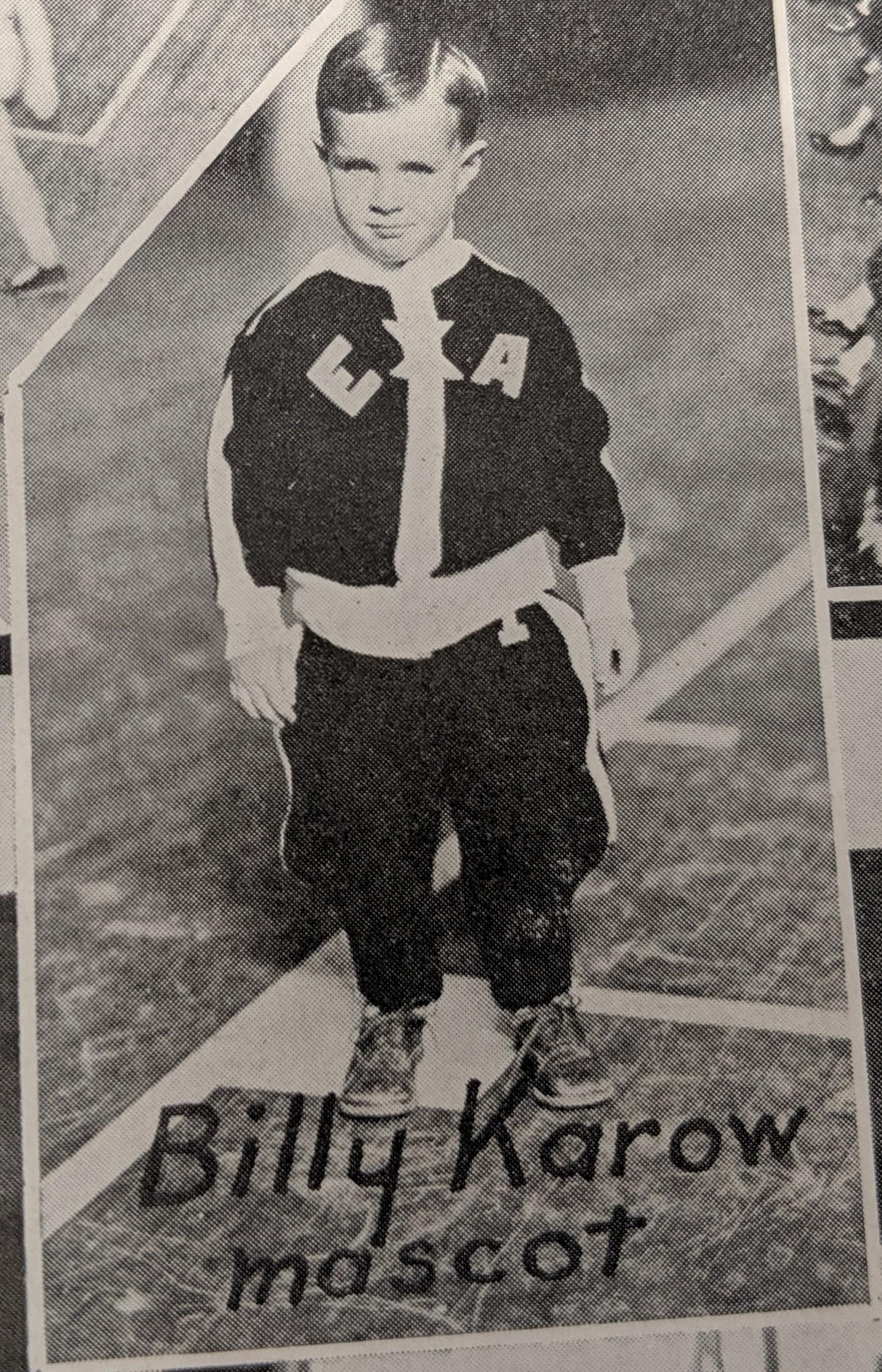 Billy Karow  1934