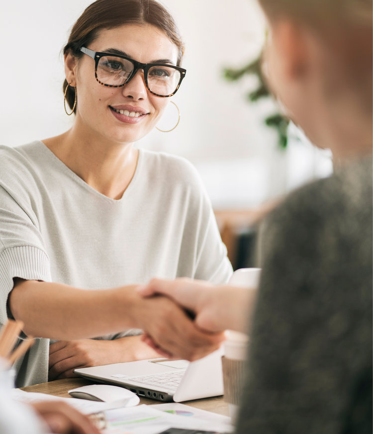 """""""I was very impressed with the way the solicitor explained things and dealt with my requests. Very professional, patient and understanding"""" - — Our client Mrs M, November 2018"""