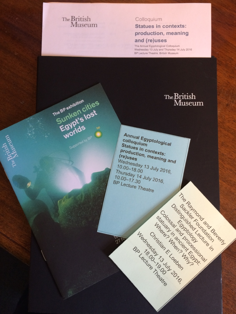 This years' Colloquium pack - full of good things!
