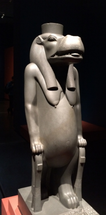 Taweret, from reign of Psamtik I -Egyptian Museum, Cairo. Photo Author's Own.