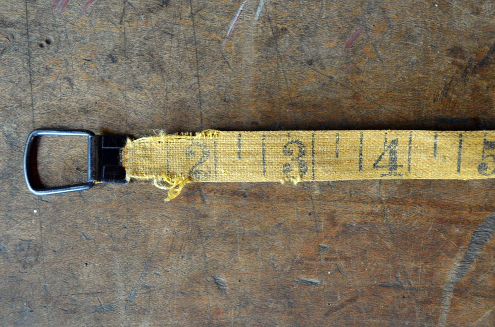 untold imprint vintage tape measure