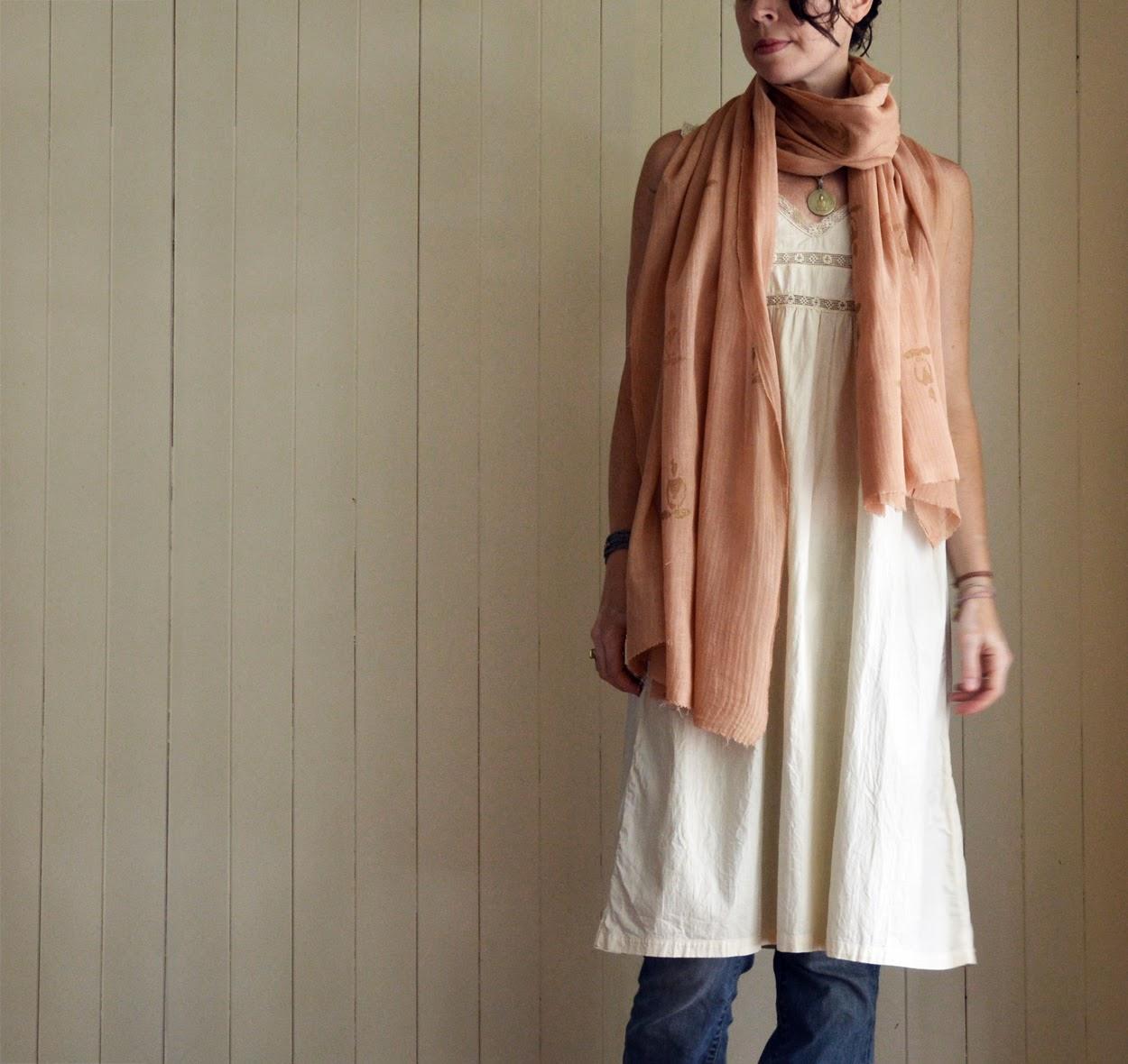 untold imprint naturally dye scarf