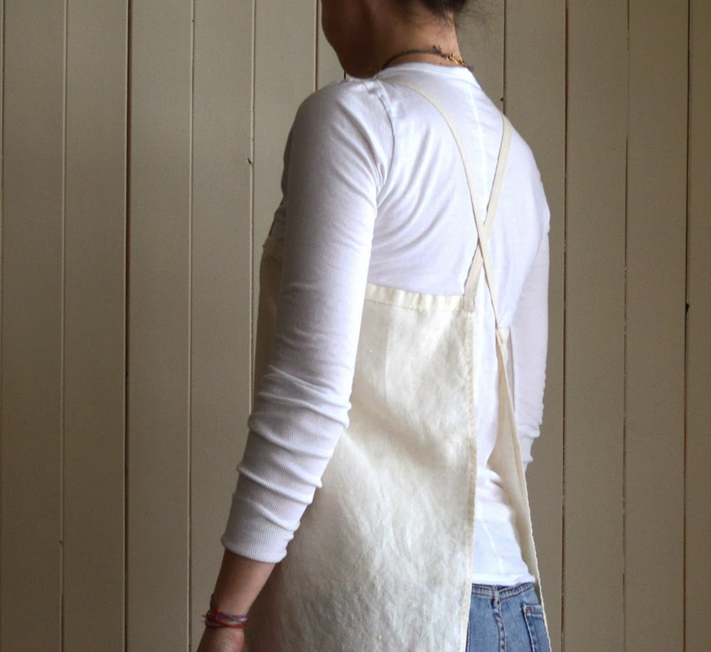 Untold Imprint Natural Hemp Apron