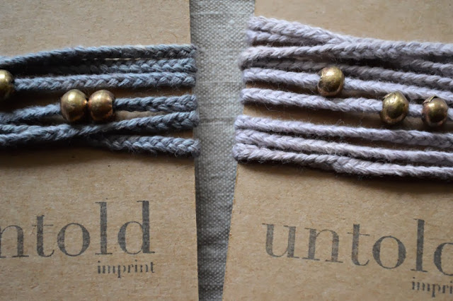 Untold Imprint Organic Cotton Wrist wraps