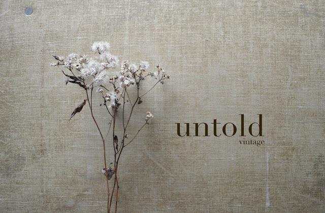Untold Imprint vintage collection