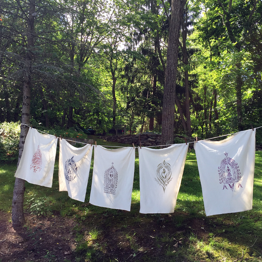 altar print collection: Buddha, Wild, Love, Mother Earth, and Divine Feminine – by Untold Imprint