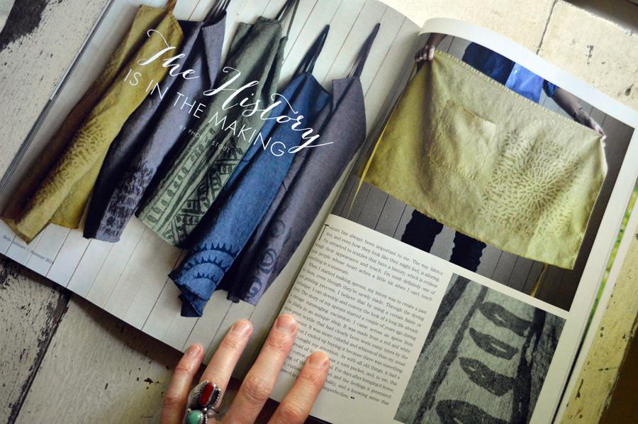 Belle Armoire magazine - Untold Imprint feature