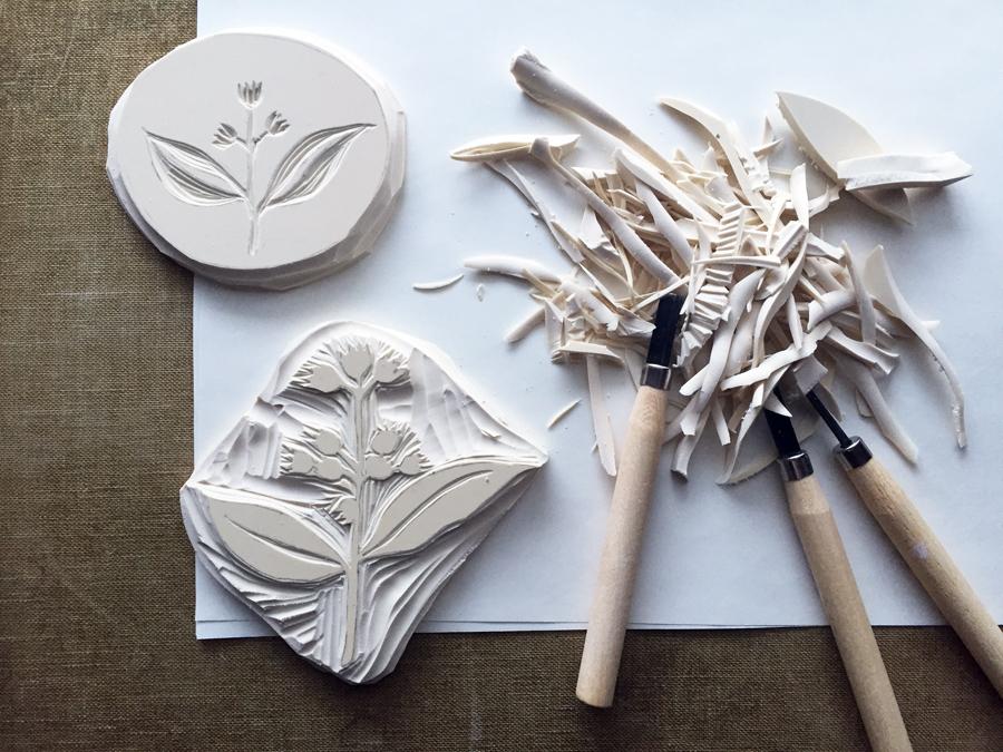 carving blocks for printing