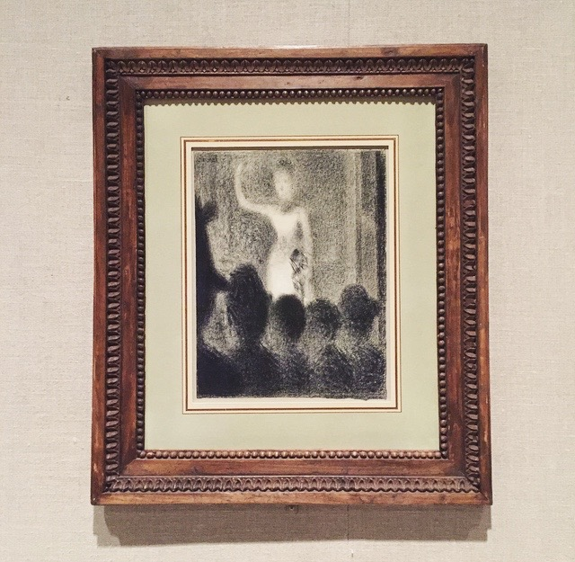 High C (Forte Chanteuse)  by Georges Seurat