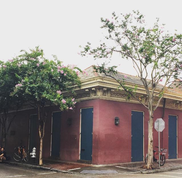 corner of Dauphine & Conti Streets