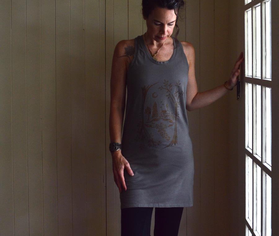 Water's Edge tank dress by Untold Imprint