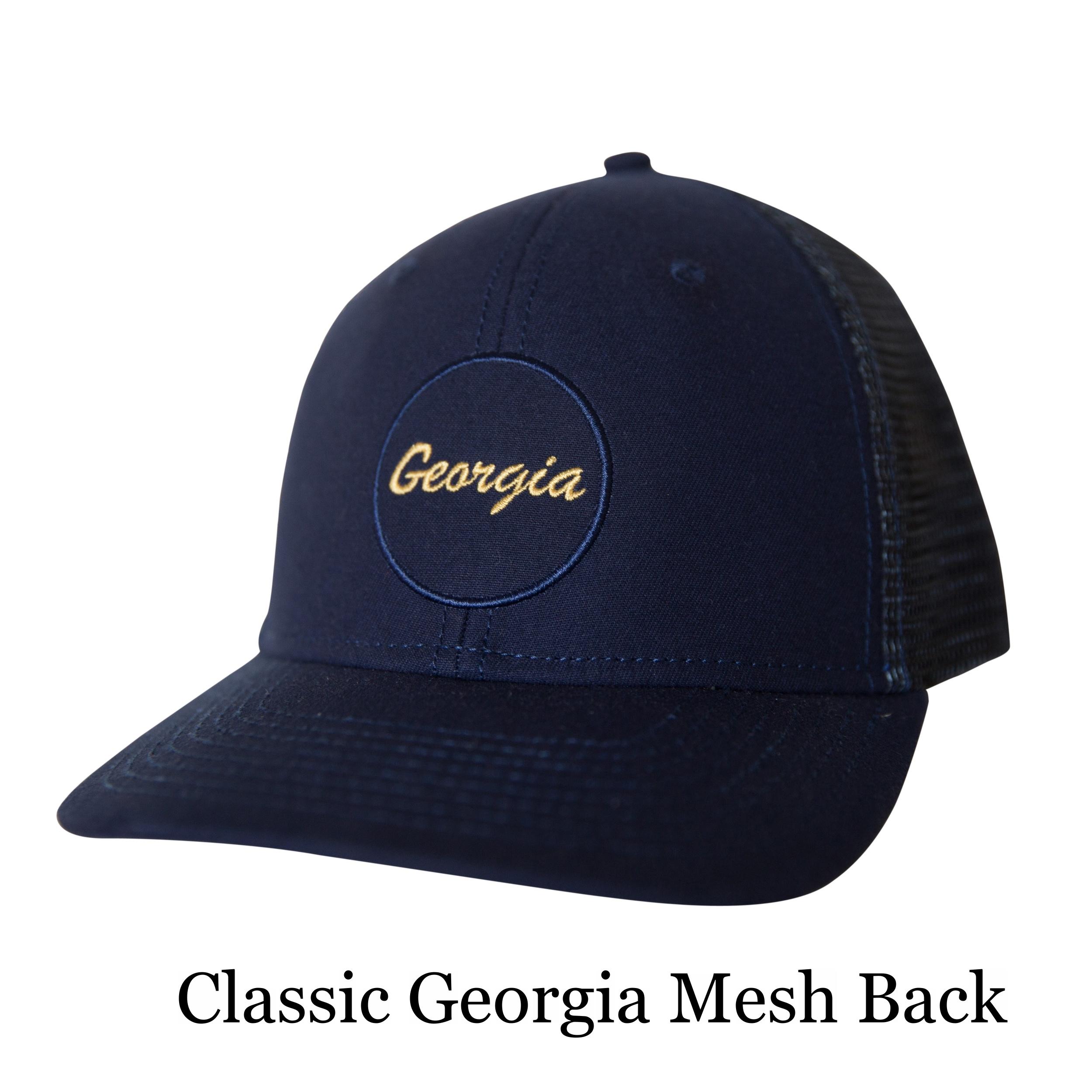 Classic Georgia Mesh Back