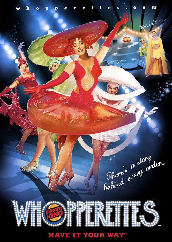 Whopperettes Poster  Role: Art Director  Illustrator: Sergio Grisanti